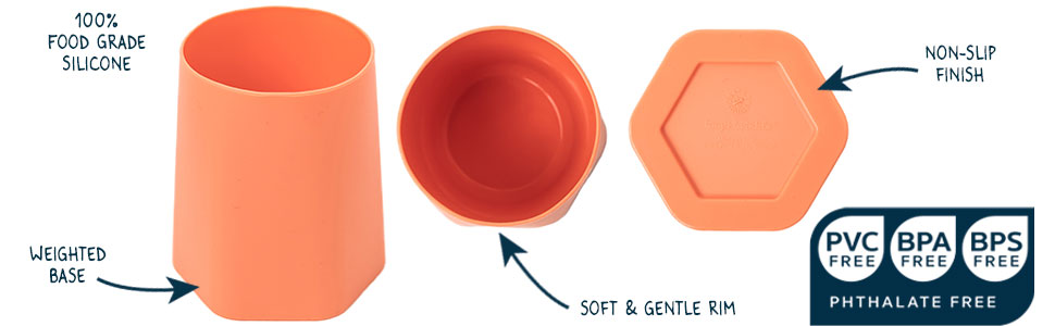 Silicone Training Cup 2Pk